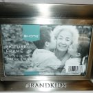 TARGET HOME PEWTER PICTURE FRAME 4x6 GRANDKIDS