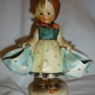 VINTAGE HUMMEL FIGURINE 'MOTHER'S DARLING' LITTLE GIRL WITH BAGS W.GERMANY