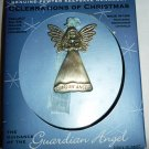 GLORIA DUCHIN HANDCRAFTED PEWTER GUARDIAN ANGEL ORNAMENT SWAROVSKI CRYSTALS NMB