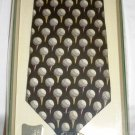 PEBBLE BEACH GOLF LINKS GIFT SET SILK TIE GOLF BALL #3 DIVOT TOOL BALL MARKER