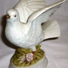 VINTAGE NAPCOWARE PORCELAIN BISQUE DOVE BIRD FIGURINE MEXICO #9479
