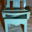 VINTAGE RENWAL BLUE BABY POTTY CHAIR PORTABLE COMMODE DOLLHOUSE MINIATURES BABY