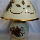 LENOX WINTER GREETING PORCELAIN CANDLEHOLDER CANDLE LAMP TEALIGHT