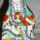 VINTAGE PORCELAIN CHINESE BUDDISM GODDESS OF COMPASSION LOTUS SEED WALL MOUNT