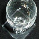 VINTAGE STEMMED HAWKES CLEAR CRYSTAL GLASS CORDIAL LIQUOR SHOT SET OF 9 NO LOGO