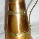 VINTAGE TWO SHADE COPPER PITCHER BRITISH MADE ENGLAND