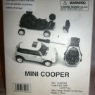 COLLECTIBLE MINI COOPER DIECAST MODEL CAR & WATCH GIFT SET
