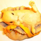 CHARMING AYNSLEY 1981 ENGLAND MASTER CRAFT BABY BUNNY RABBIT FIGURINE