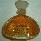 VINTAGE CRYSTAL GLASS BOTTLEAZZARO 9 BY LORIS AZZARO .17 OZ PARFUME