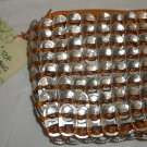 POP TOP MAKE UP BAG MADE OUT OF SODA CAN TABS BY TWO'S COMPANY ENVIRONMENTAL
