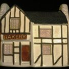 VNTGE HANDPAINTED CERAMIC COLLECTIBLE PHILIP LAURESTON COTTAGES BAKERY ENGLAND