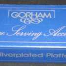 VINTAGE GORHAM SILVERPLATED BIG PLATTER SPOON NMB