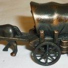 HORSE &  DIE CAST SETTLERS WAGON FIGURAL PENCIL SHARPENER