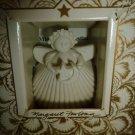 MARGARET FURLONG LITTLE CELESTIAL ANGEL PORCELAIN CHRISTMAS TREE ORNAMENT