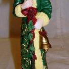 CHARMING CHRISTMAS SANTA LENOX 1996 THE COLLECTOR'S TREASURY SANTA FIGURINE
