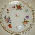 ANTIQUE ROSENTHAL DONATELLO BAVARIA FERMANY PORCELAIN HAND PAINTED SAUCER PLATE
