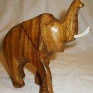 BEAUTIFUL AFRICAN ART WOODEN HANDCARVED FIGURINE ELEPHANT