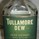 COLLECTIBLE EMPTY TULLAMORE DEW IRISH WHISKEY BOTTLE IRELAND