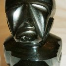 STONE CARVED GRANITE NATIVE AMERICAN INDIAN FIGURINE AZTEC