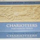 VINTAGE FROM BRITISH MUSEUM CHARIOTEERS PARTHENON FRIEZE CAST PLASTER PLAQUE