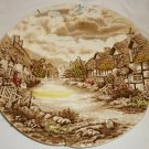 VINTAGE JOHNSON BROTHERS OLDE ENGLISH COUNTRYSIDE CERAMIC PLATE 10""