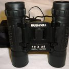 BUSHNELL FOLDABLE BINOCULARS W/CARRYING CASE 10 X 25 302 FT/1000Y