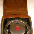 VINTAGE GE EXPOSURE METER PR2 LEATHER CASE