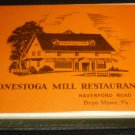 VINTAGE COMMEMORATIVE PLAYING CARDS CONESTOGA MILL RESTAURANT BRYN MAWR PA NEW