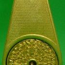 ANTIQUE MARCEL FRANCK FRANCE LE WEEKEND GOLD PLATED FILIGREE PERFUME ATOMIZER