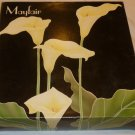 MIKASA CRYSTAL CALLA LILY MAYFAIR 5 COMPARTMENT DIVIDED RELISH 549/345 W.GERMANY