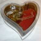 CHARMING HEART MUSIC JEWELRY BOX MUSIC NOTES