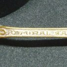 VINTAGE COLLECTIBLE SPOON GEO HOMER BOSTON FLAGSHIP NEW YORK ADMIRAL SAMPSON
