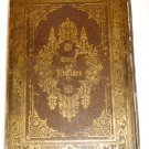 ANTIQUE HEBREW & GERMAN PRAYER BOOK FOR HOME & SYNAGOGUE PRAGUE 1887 BRANDEIS