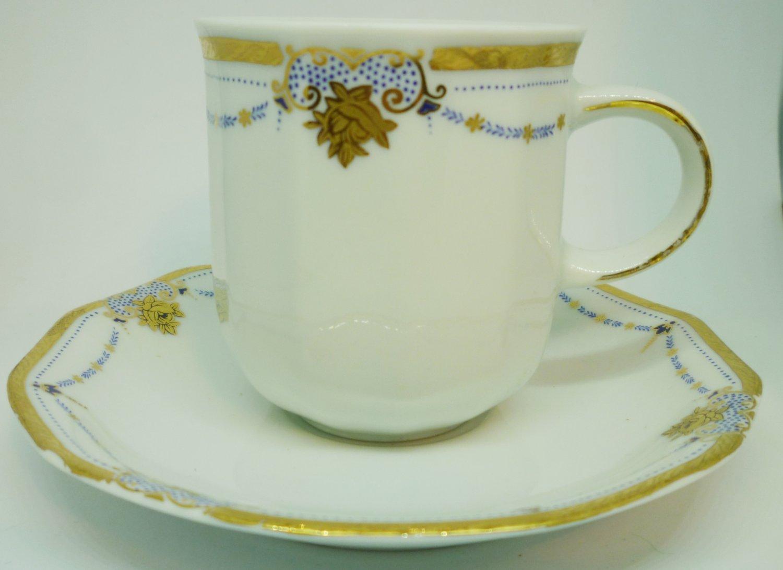VINTAGE COLLECTIBLE PORCELAIN TEA CUP/SAUCER TIRSCHENREUTH BAVARIA Z & Co