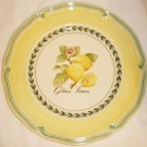 VILLEROY & BOCH LUXENBURG FRENCH GARDEN VALENCE LUNCH DINNER PLATE CITRUS 8""