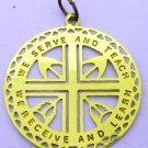 ST.JOSEPH' INDIAN SCHOOL WE SERVE AND TEACH WE RECEIVE AND LEARN PENDANT LOGO