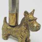 ANTIQUE BRONZE SCOTTISH TERRIER DOG FIGURINE STRIKER CIGARETTE LIGHTER
