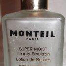 VINTAGE COLLECTIBLE EMPTY FROST GLASS BOTTLE MONTREAL PARIS LOTION