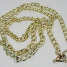 """GOLD COLORED LONG 44"""" CHAIN NECKLACE BELT"""