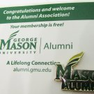 GEORGE MASON UNIVERSITY ALUMNI PIN