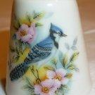 CHARMING PORCELAIN THIMBLE HANDPAINTED BLUE JAY BIRD