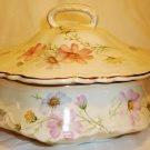 HOMER LAUGHLIN VIRGINIA ROSE ROUND COVERED CASSEROLE TUREEN A47 N6