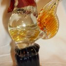VINTAGE COLORFUL MURANO GLASS ROOSTER FIGURINE