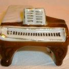 CHARMING VINTAGE ANTIQUE OCCUPIED JAPAN MINIATURE PORCELAIN PIANO FIGURINE