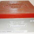 COLLECTIBLE CAO FLATHEAD 660 BIG BLOCK WOOD CIGAR BOX NICARAGUA