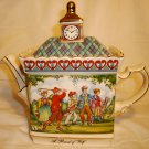 SADLER CLASSIC COLLECTION PORCELAIN TEAPOT ENGLAND CHAMPIONSHIP ROUND OF GOLF