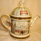 SADLER HERITAGE COLLECTION PORCELAIN TEAPOT ENGLAND LONDON