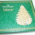 WHITE HOUSE HISTORICAL CHRISTMAS ORNAMENT PRESIDENT'S BENJAMIN HARRISON TREE