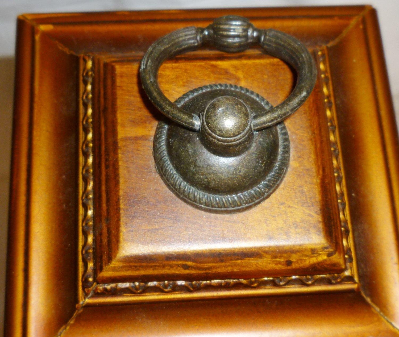 RATTAN WOODEN WINE BOTTLE HOLDER GIFT BOX
