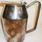 VINTAGE SILVERPLATED FAIRMONT HOTEL DOUBLE WALL COFFEE HOT WATER POT ITALY